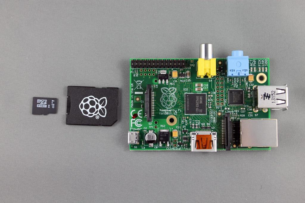 Raspberry Pi Model B+ and Noobs 8gb SD card