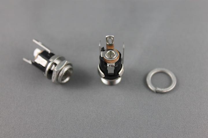 Socket, 2.1 X 5.5mm Single Hole