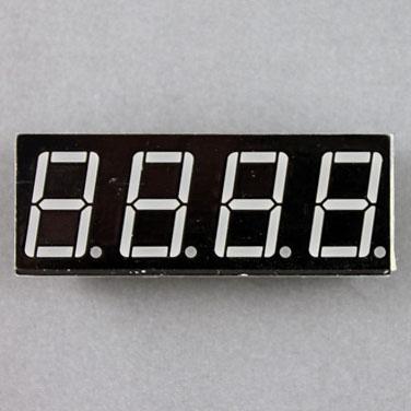 seven segment display, 4 digits