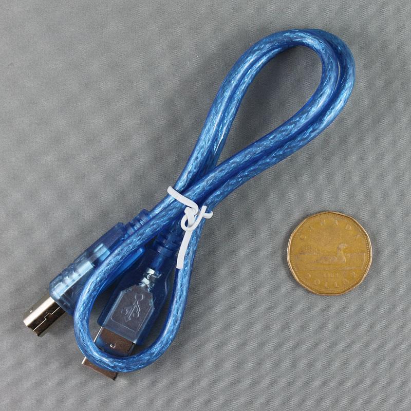 ELEC-0091 50cm blue USB cable