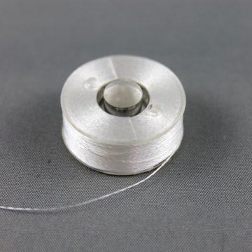 Spool of white thread