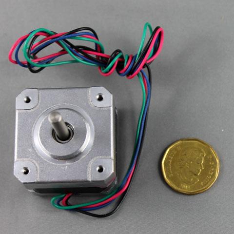 1.8 degree stepper motor