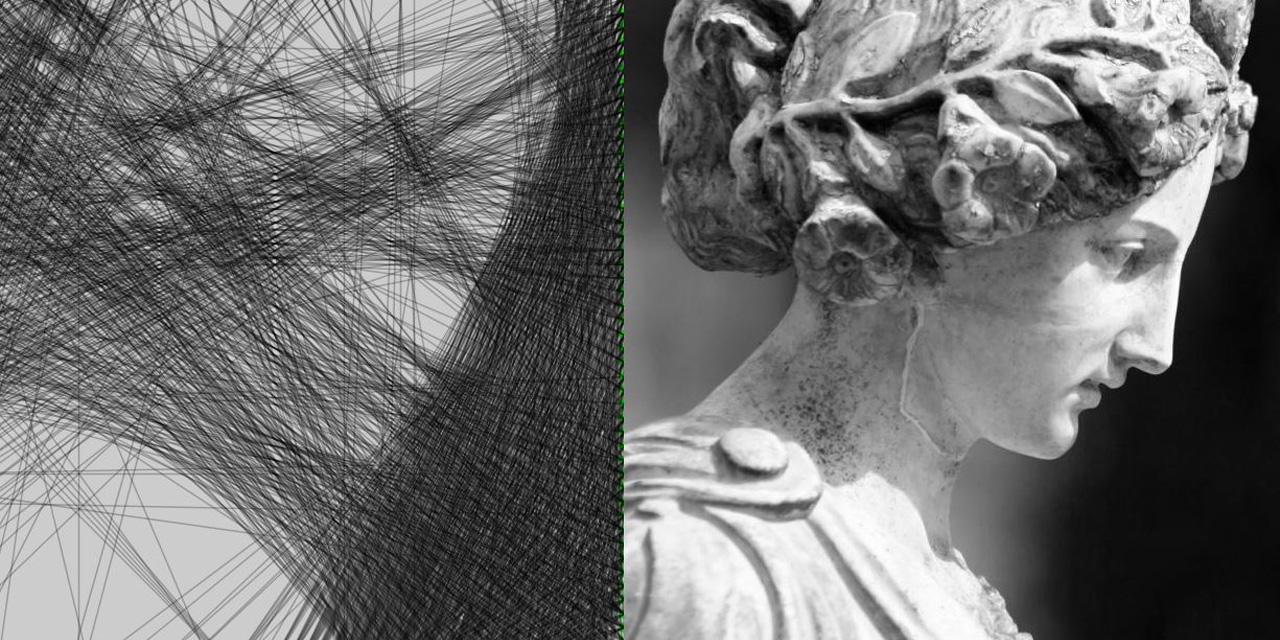 circular weaving algorithm
