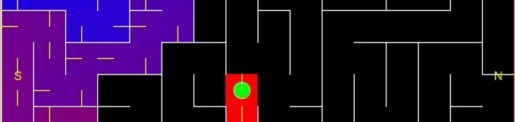 Micromouse maze solving with Processing and the Right Hand